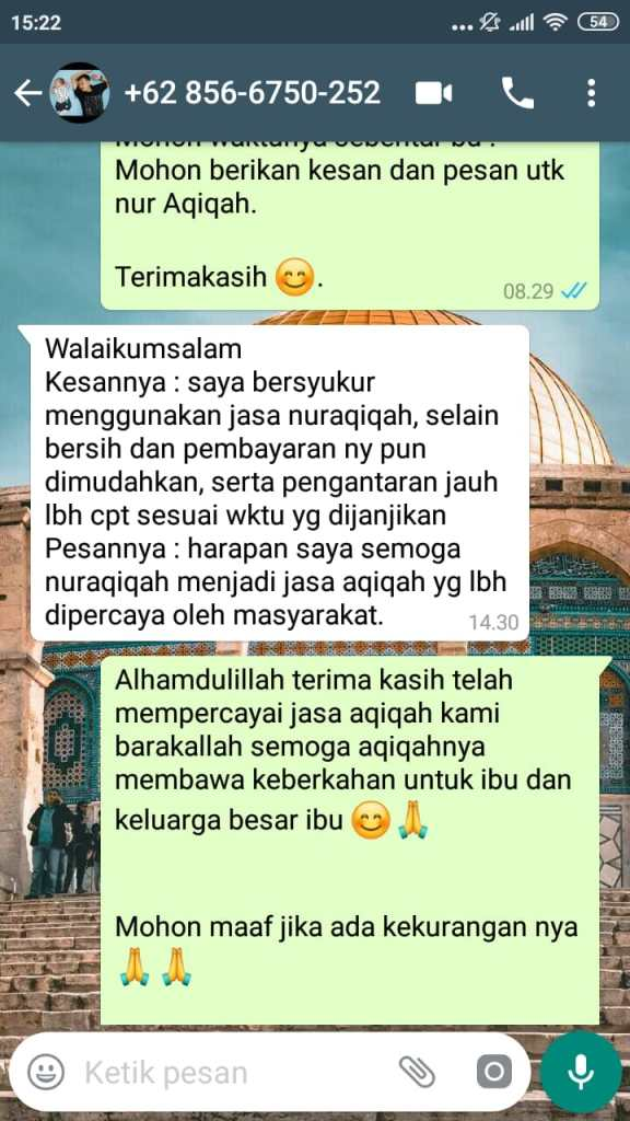 Harga Kambing Aqiqah Jakarta Barat murah