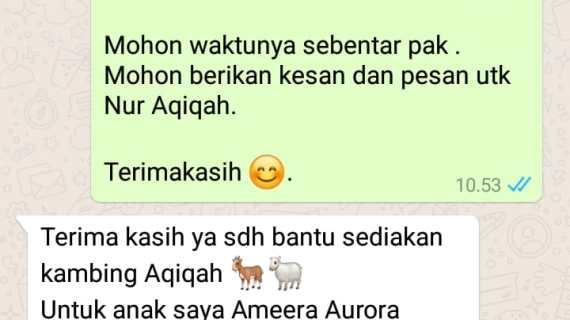 Layanan Catering Aqiqah Jakarta Berpengalaman