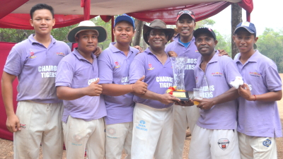 Chairos Tigers: JCA 6s 2015 Runners Up