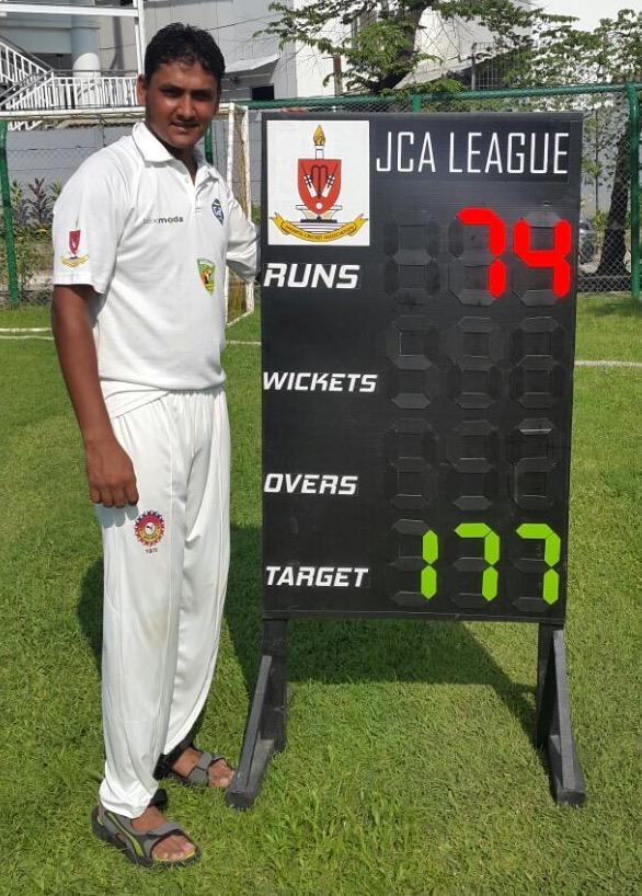 Irshad Mahumad MoM Jaguars CC