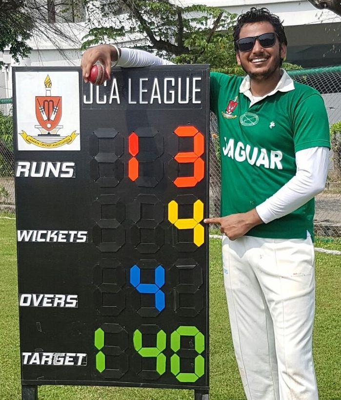 Jagdeep Singh MoM 21.08.16