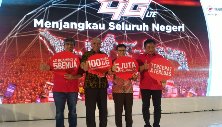 Telkomsel 4G Nation