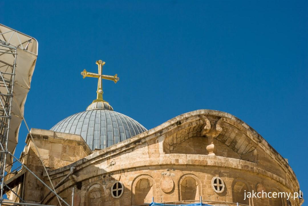 Jerozolima obok Bazyliki Grobu Pańskiego