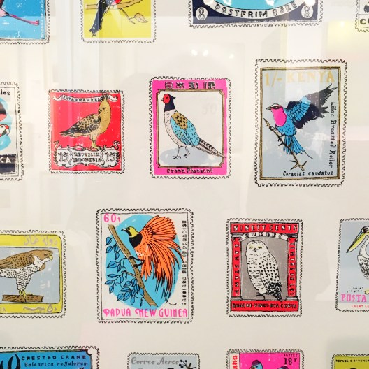 Birds Screen Print by Charlotte Farmer