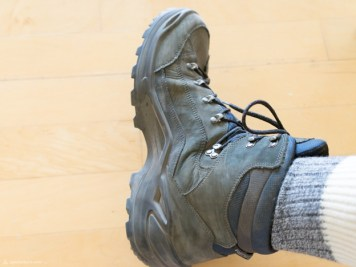 Start with plain old hiking boots...