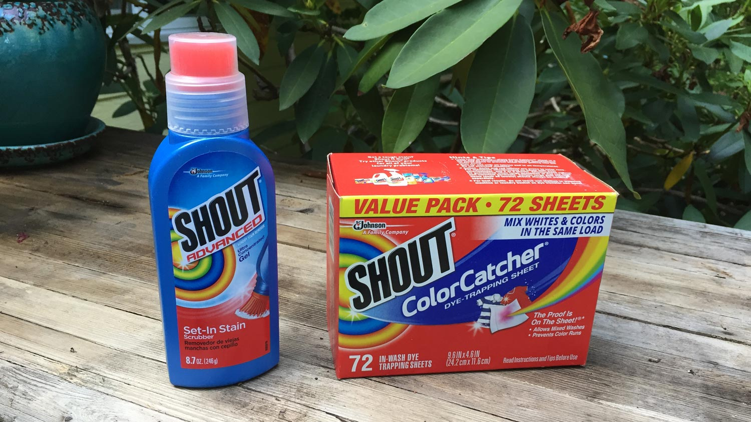 Laundry secrets from Shout®
