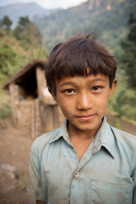 Boy of the Chepang Hills - Terai, Nepal.