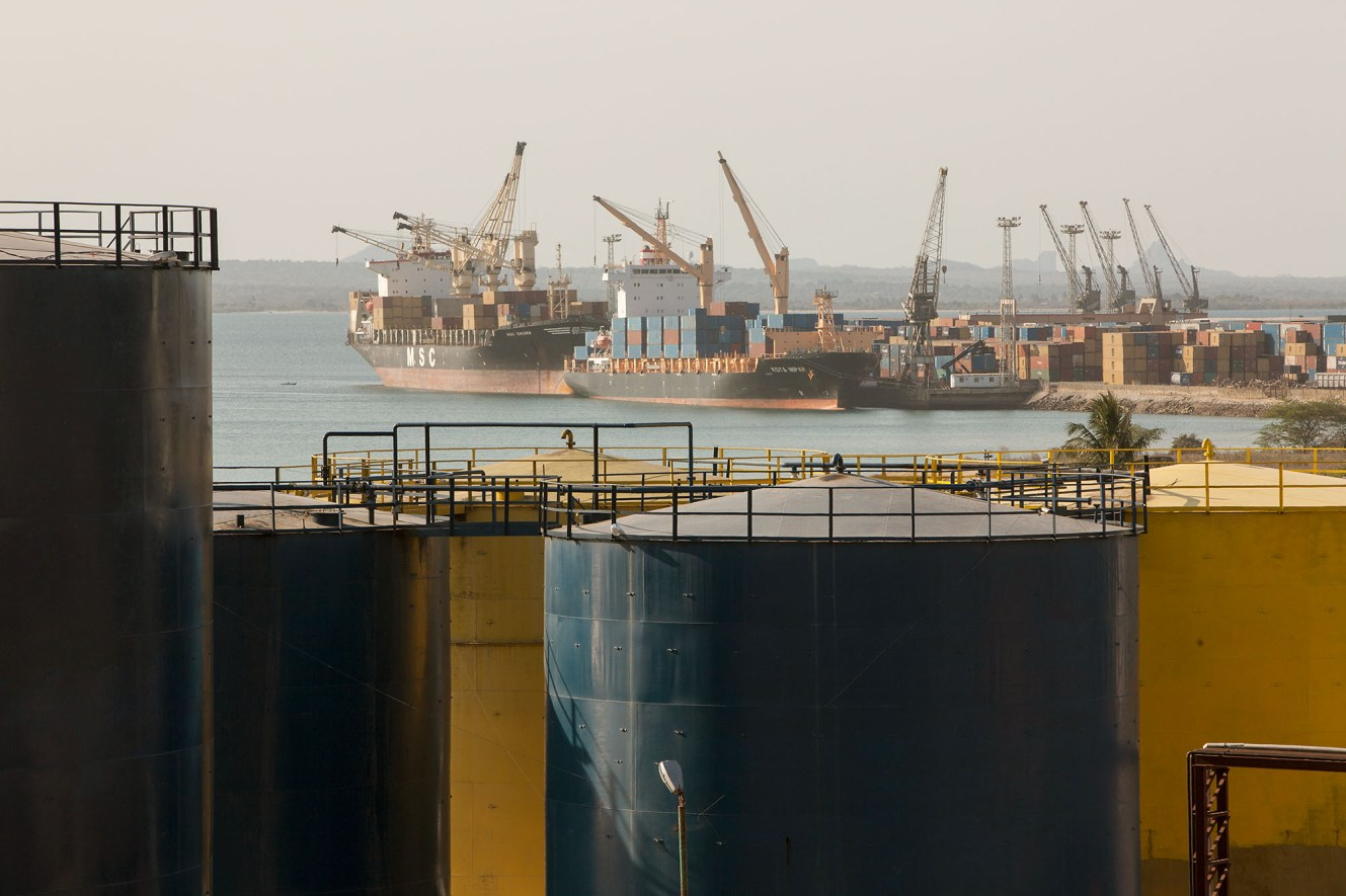 Port of Nacala, Mozambique.