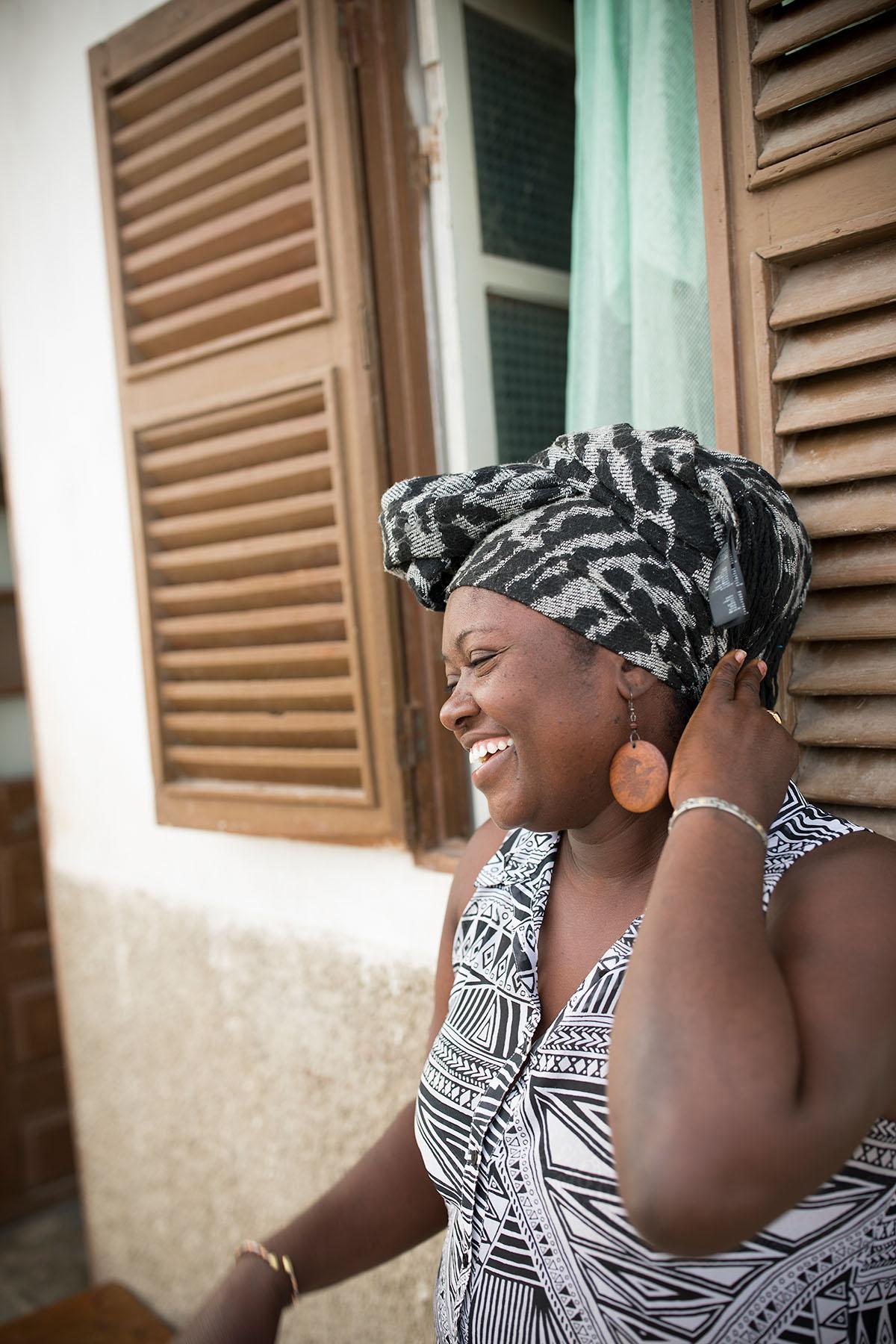 Cape Verdean woman