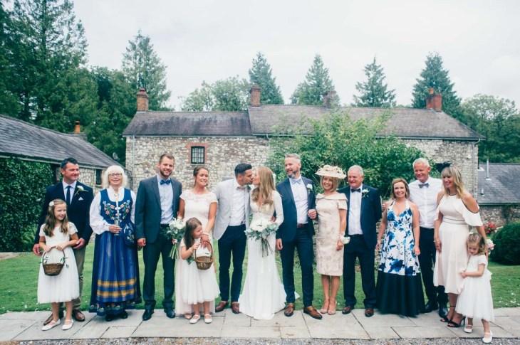 Pencoed house wedding photography-62