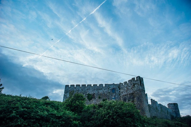Manobier Castle wedding Photography-298