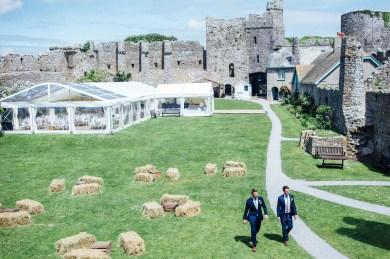 Manobier Castle wedding Photography-90