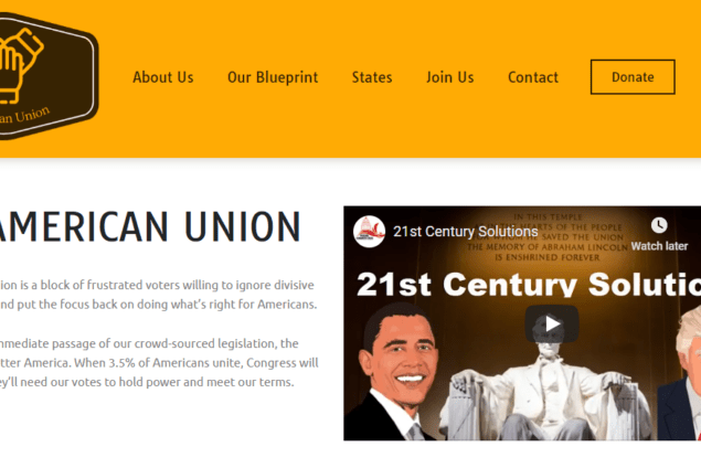 americanunion website