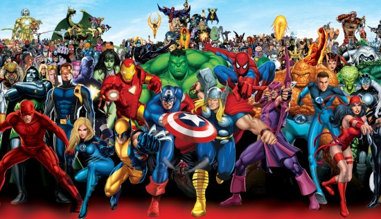 Marvel Comics Group shot