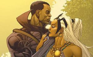 Storm and Black Panther's marriage may have been short but they still remain a fan-favorite couple.  (Artwork by Leinill Yu; Property of Marvel Comics)