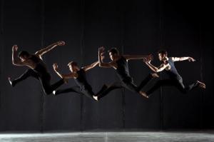 Teddy Forance, Travis Wall, Nick Lazzarini and Kyle Robinson