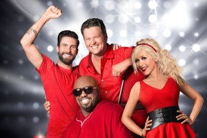 "All four of ""The Voice"" coaches saw their rosters increase after night four of Blind Auditions. (Photo property of NBC)"