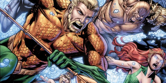 "Geoff Johns ended his run on ""Aquaman"" with the final chapter of ""Death of a King."" (Artwork property of DC Comics)"