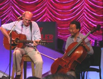 James Taylor and Yo-Yo Ma