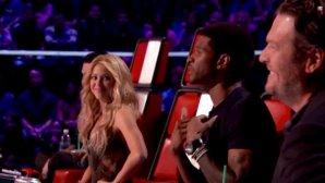 Shakira, Blake and Usher The Voice