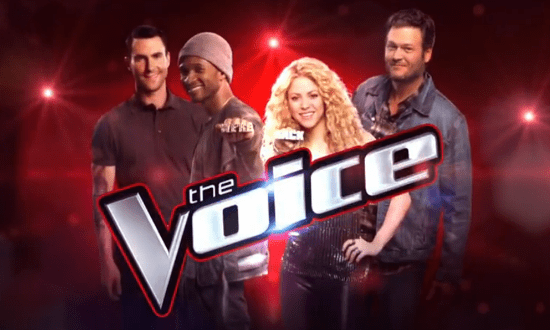 "Tomorrow night, Usher and Shakira reunite with Adam and Blake for ""The Voice: Season Six."" (Photo property of NBC)"