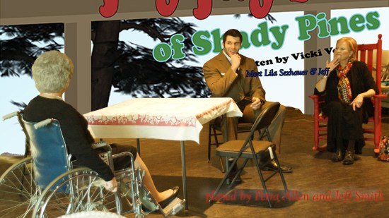 Jeff Smith and Petra Allen were some of the actors that carried the show. (Photo courtesy of MeltingPotKC)