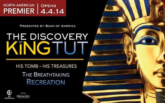 The Discovery of King Tut will make its North American debut tomorrow at Kansas City's Union Station. (Photo property of Union Station & Premiere Exhibitions)