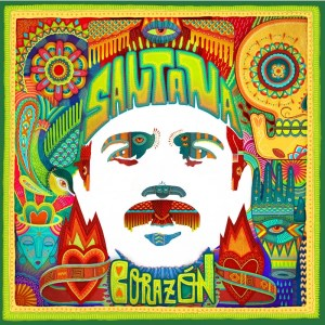Santana Corazon album cover