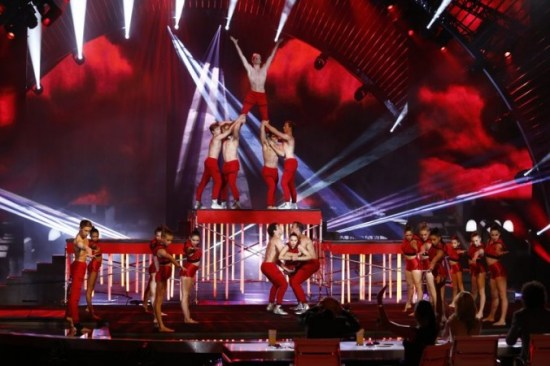 """AcroArmy's choreography and high-flying stunts kept the """"AGT"""" audience on their seats throughout the entire season. (Photo property of NBC)"""