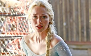 "Elsa freezes Storybrooke on""OUAT"""