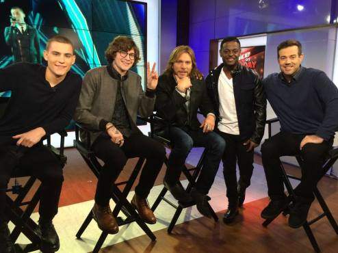 The Voice Season Seven Top 4 with Carson Daly