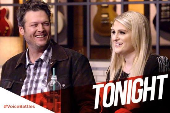 Blake Shelton and Meghan Trainor The Voice Season Eight