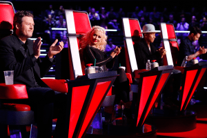"The coaches bicker as artists rise on ""The Voice"""