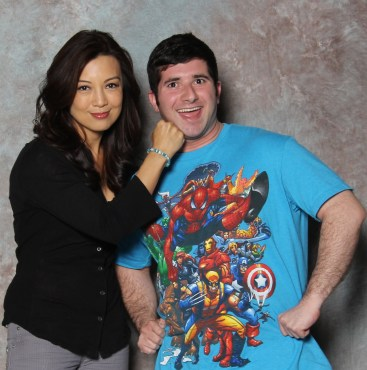 "It was truly an honor to meet Ming-Na Wen. She is an incredible woman and ""Agent of S.H.I.E.L.D."" (Photo property of Epic Photo Ops)"