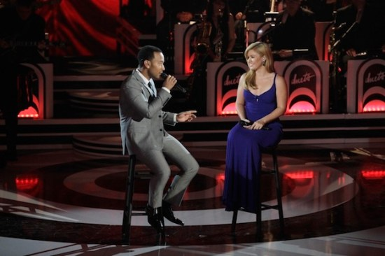 Kelly Clarkson reunited with John Legend and recorded the perfect song of 2015! (Photo property of ABC)