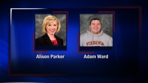 Alison Parker and Adam Ward CBS 7 News