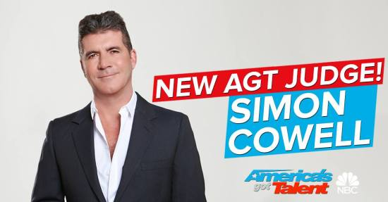 Simon Cowell joins AGT