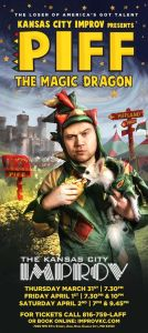 Piff the Magic Dragon visits Kansas City