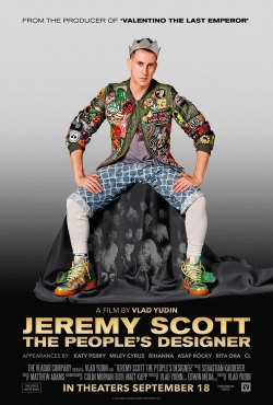 """""""Jeremy Scott: The People's Designer"""" was showcased at the Kansas City Film Fest. (Poster property of the Vladar Company)"""