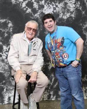 Meeting Stan Lee at Planet Comicon