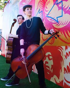 Emil & Dariel Rock Cellos