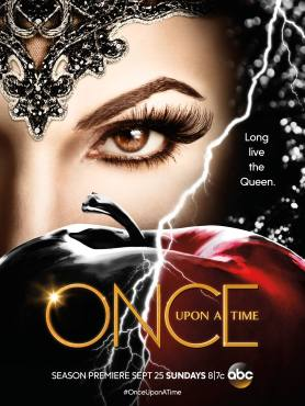 "The Evil Queen is back on ""Once Upon A Time!"" Can Regina and the heroes survive her attack? (Poster property of ABC Studios)"