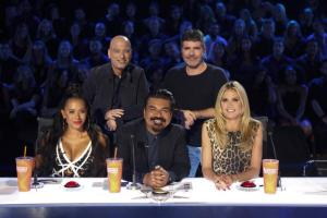 "George Lopez visits ""America's Got Talent"""