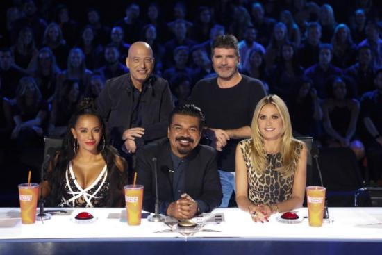 George Lopez visits America's Got Talent