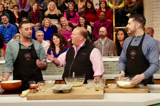 The Brooklyn Baking Barons cook with Mario Batali