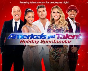 America's Got Talent celebrates the holiday season