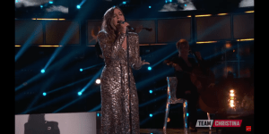 "Alisan Porter returns to ""The Voice"" as Team Alicia & Team Gwen perform"