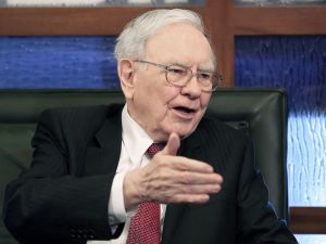 "Warren Buffett & Gemma Godfrey visit ""The New Celebrity Apprentice"""
