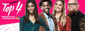 """The Voice: Season 12"" Final Four take the stage to fight for the championship"