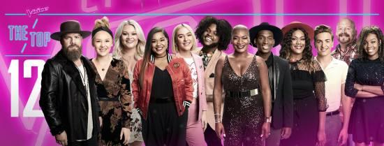 The Voice: Season 13 Top 12
